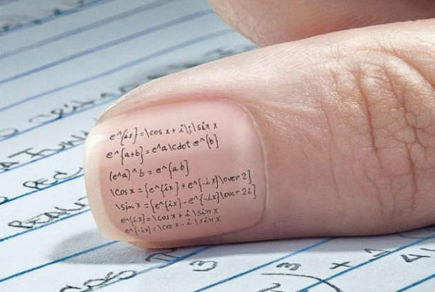 nail exam cheat1 - How To Cheat In Exam Hall Without Getting Caught