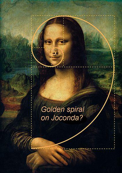 Golden Rectangle on Mona Lisa