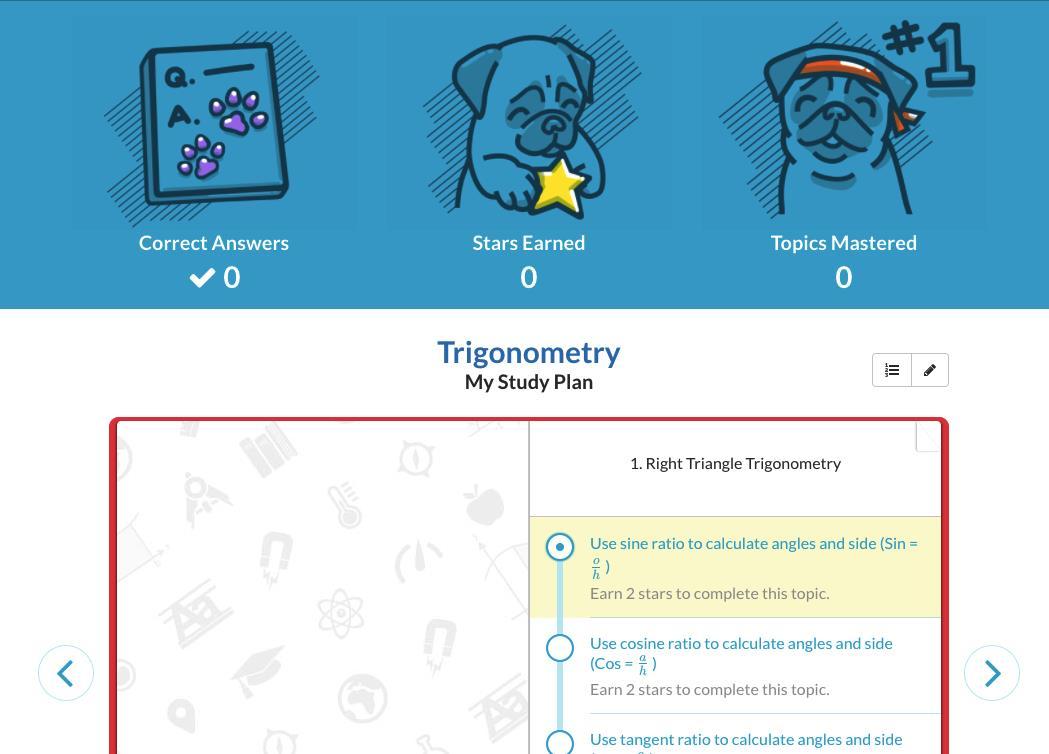 StudyPug user page